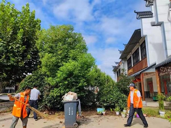来安县三城镇:开展环境整治擦亮美丽乡村名片