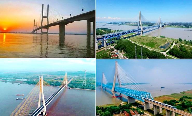 安徽有几座跨江大桥,你知道吗?