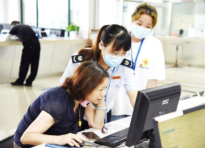 东至县不断刷新政务服务水平