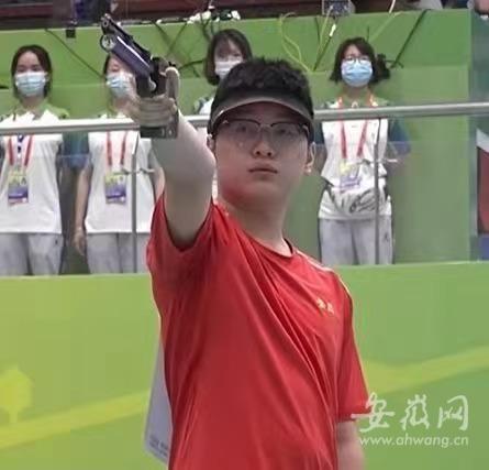 最后一枪10.9环!安徽射击小将胡凯全运会逆袭夺冠